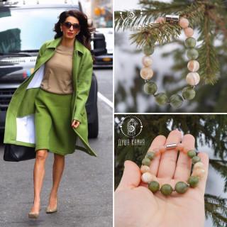 Амаль Клуни обожает зеленый цвет.