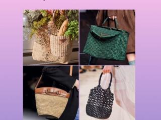 Корзины и авоськи — самые модные сумки этой весны